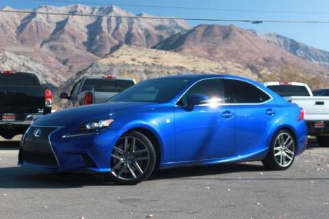 2016 Lexus IS 300 for sale at REVOLUTIONARY AUTO in Lindon UT