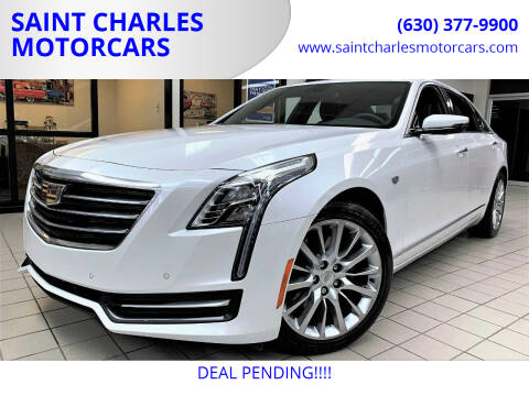 2017 Cadillac CT6 for sale at SAINT CHARLES MOTORCARS in Saint Charles IL