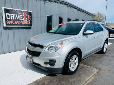 2013 Chevrolet Equinox for sale at Drive 1 Car & Truck in Springfield OH