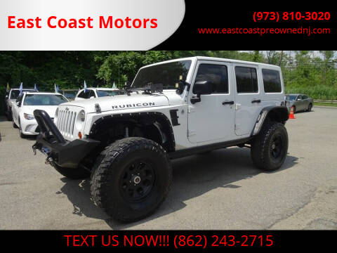2012 Jeep Wrangler Unlimited for sale at East Coast Motors in Lake Hopatcong NJ