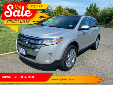 2013 Ford Edge for sale at STRAIGHT MOTOR SALES INC in Paterson NJ