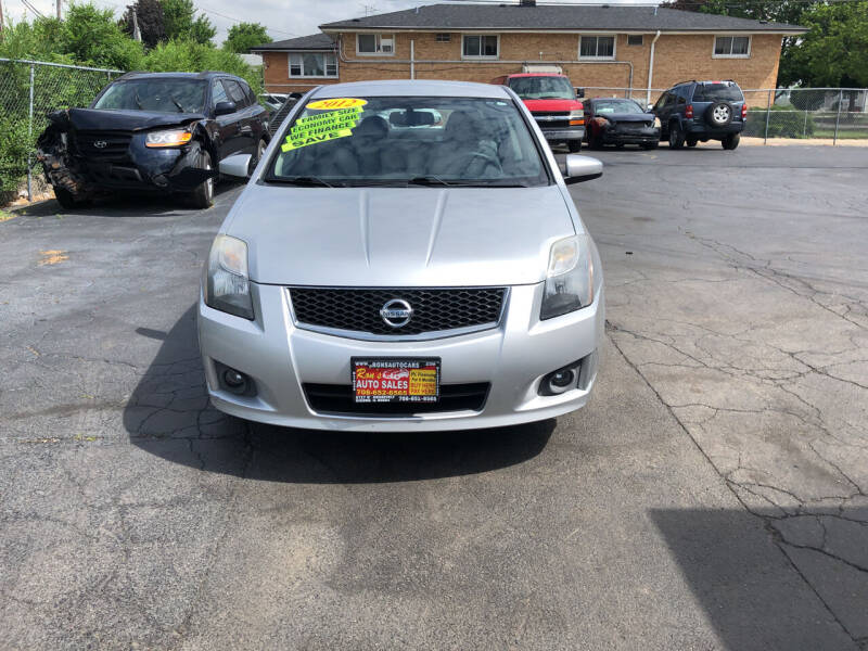 2012 Nissan Sentra for sale at RON'S AUTO SALES INC in Cicero IL