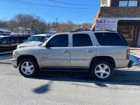 2000 Chevrolet Tahoe for sale at TNT Auto Sales in Bangor PA