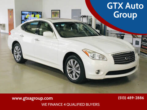 2012 Infiniti M37 for sale at GTX Auto Group in West Chester OH