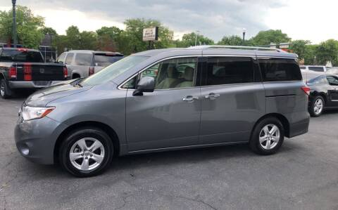 2016 Nissan Quest for sale at BWK of Columbia in Columbia SC