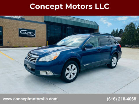 2011 Subaru Outback for sale at Concept Motors LLC in Holland MI
