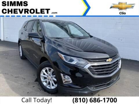 2019 Chevrolet Equinox for sale at Aaron Adams @ Simms Chevrolet in Clio MI