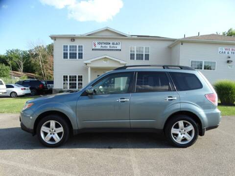 2010 Subaru Forester for sale at SOUTHERN SELECT AUTO SALES in Medina OH