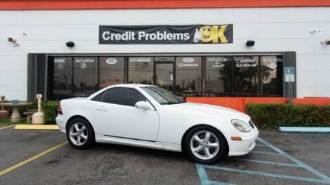 2001 Mercedes-Benz SLK for sale at Car Depot in Miramar FL