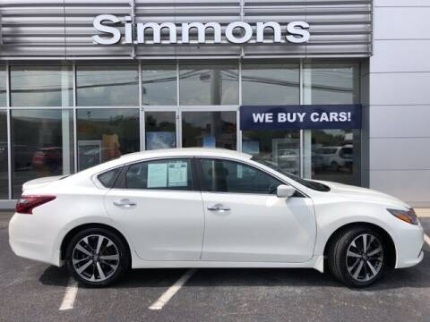 2017 Nissan Altima for sale at SIMMONS NISSAN INC in Mount Airy NC