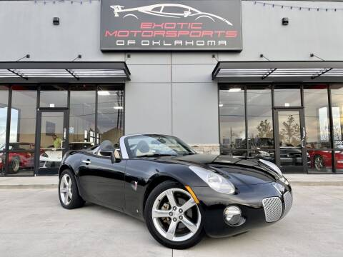 2006 Pontiac Solstice for sale at Exotic Motorsports of Oklahoma in Edmond OK