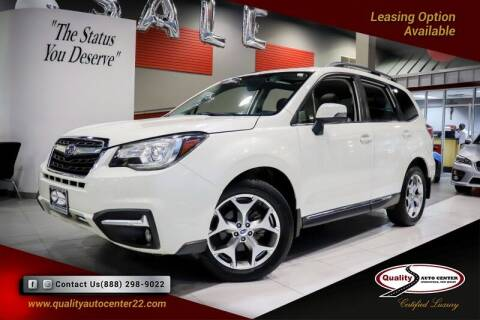 2018 Subaru Forester for sale at Quality Auto Center in Springfield NJ
