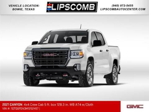 2021 GMC Canyon for sale at Lipscomb Auto Center in Bowie TX