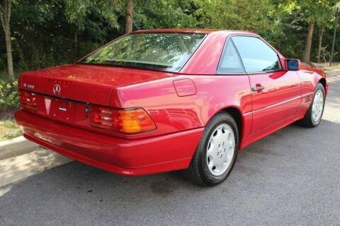 1995 Mercedes-Benz SL-Class for sale at M & M Auto Brokers in Chantilly VA