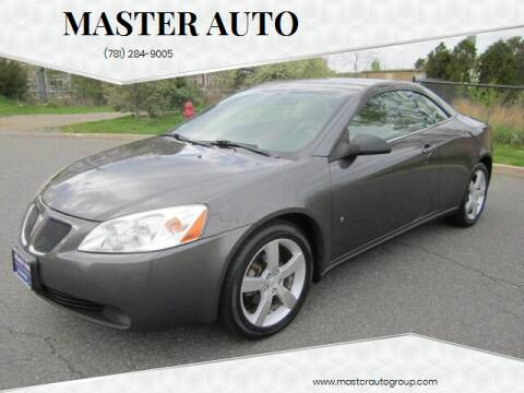 2007 Pontiac G6 for sale at Master Auto in Revere MA