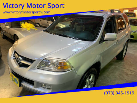 2004 Acura MDX for sale at Victory Motor Sport in Paterson NJ
