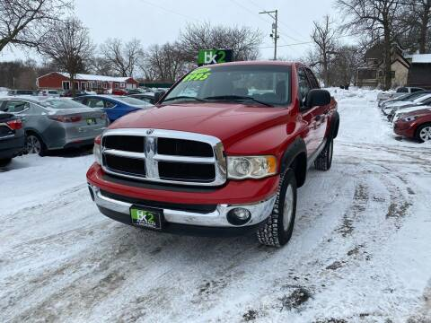2005 Dodge Ram Pickup 1500 for sale at BK2 Auto Sales in Beloit WI