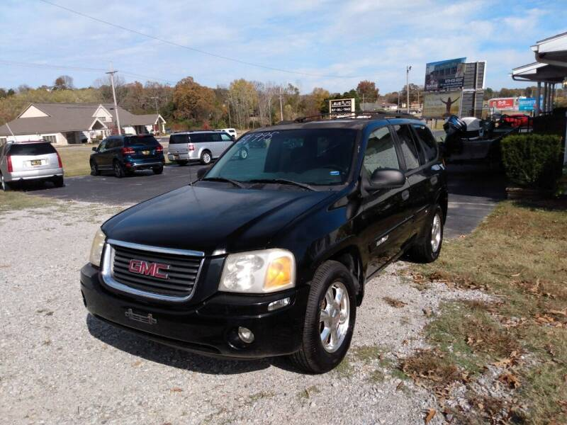 2004 GMC Envoy for sale at LEWIS AUTO in Mountain Home AR