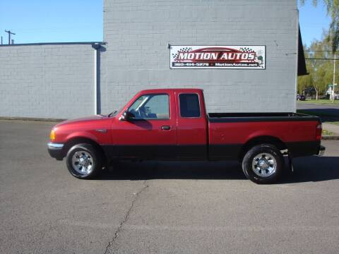 2001 Ford Ranger for sale at Motion Autos in Longview WA