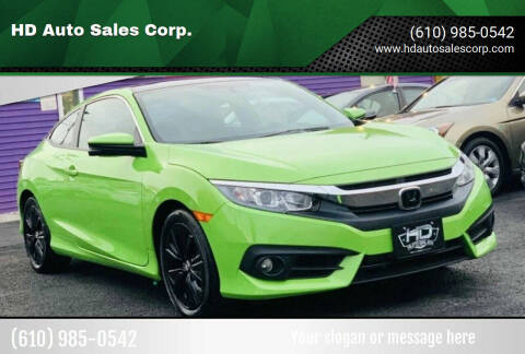 2017 Honda Civic for sale at HD Auto Sales Corp. in Reading PA