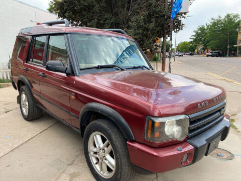 2004 Land Rover Discovery for sale at PYRAMID MOTORS AUTO SALES in Florence CO