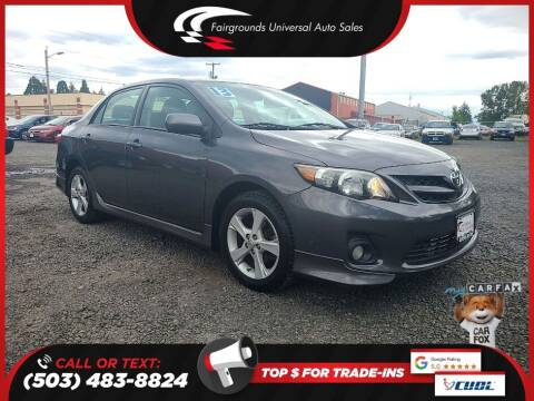 2013 Toyota Corolla for sale at Universal Auto Sales in Salem OR