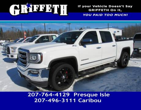2016 GMC Sierra 1500 for sale at Griffeth Mitsubishi - Pre-owned in Caribou ME