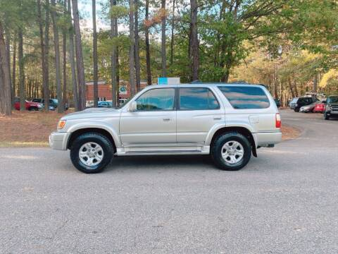 2001 Toyota 4Runner for sale at H&C Auto in Oilville VA