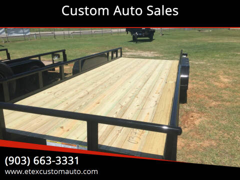 2021 Top Hat 20x83 Utility Trailer for sale at Custom Auto Sales - TRAILERS in Longview TX