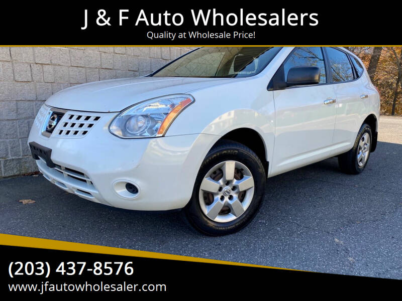 2010 Nissan Rogue for sale at J & F Auto Wholesalers in Waterbury CT