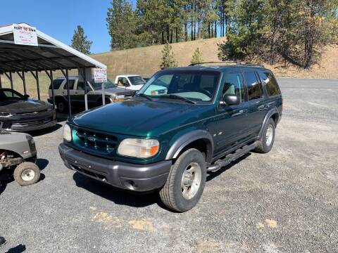 2001 Ford Explorer for sale at CARLSON'S USED CARS in Troy ID