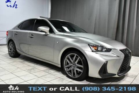 2017 Lexus IS 300 for sale at AUTO HOLDING in Hillside NJ