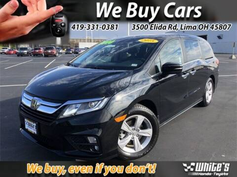 2018 Honda Odyssey for sale at White's Honda Toyota of Lima in Lima OH