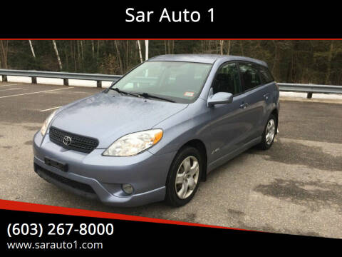 2006 Toyota Matrix for sale at Sar Auto 1 in Belmont NH