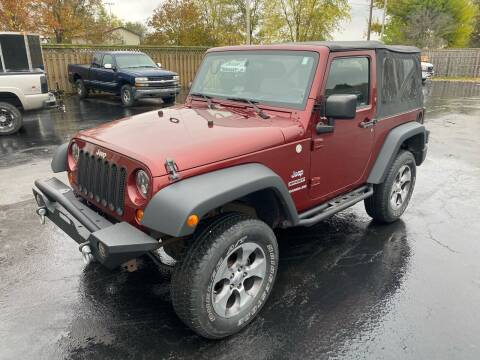 2010 Jeep Wrangler for sale at CarSmart Auto Group in Orleans IN