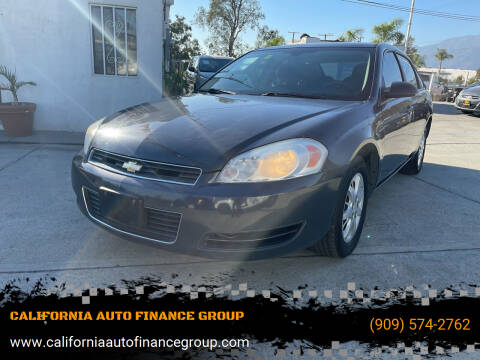 2008 Chevrolet Impala for sale at CALIFORNIA AUTO FINANCE GROUP in Fontana CA