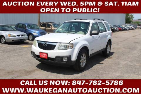 2008 Mazda Tribute for sale at Waukegan Auto Auction in Waukegan IL