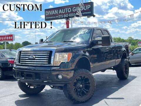 2011 Ford F-150 for sale at Divan Auto Group in Feasterville Trevose PA