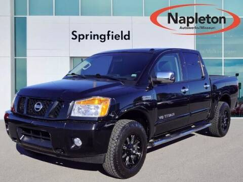 2015 Nissan Titan for sale at Napleton Autowerks in Springfield MO
