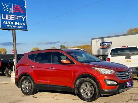 2013 Hyundai Santa Fe Sport for sale at Liberty Auto Sales in Merrill IA