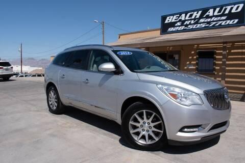 2014 Buick Enclave for sale at Beach Auto and RV Sales in Lake Havasu City AZ