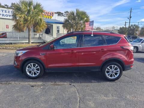2018 Ford Escape for sale at Sun Coast City Auto Sales in Mobile AL
