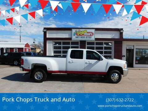 2008 Chevrolet Silverado 3500HD for sale at Pork Chops Truck and Auto in Cheyenne WY