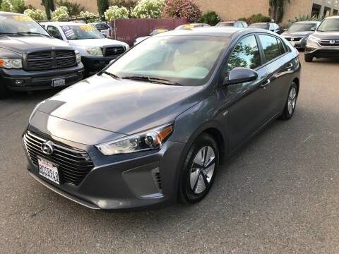 2018 Hyundai Ioniq Hybrid for sale at C. H. Auto Sales in Citrus Heights CA