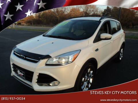 2013 Ford Escape for sale at Steves Key City Motors in Kankakee IL