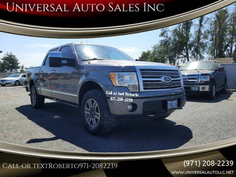 2010 Ford F-150 for sale at Universal Auto Sales Inc in Salem OR