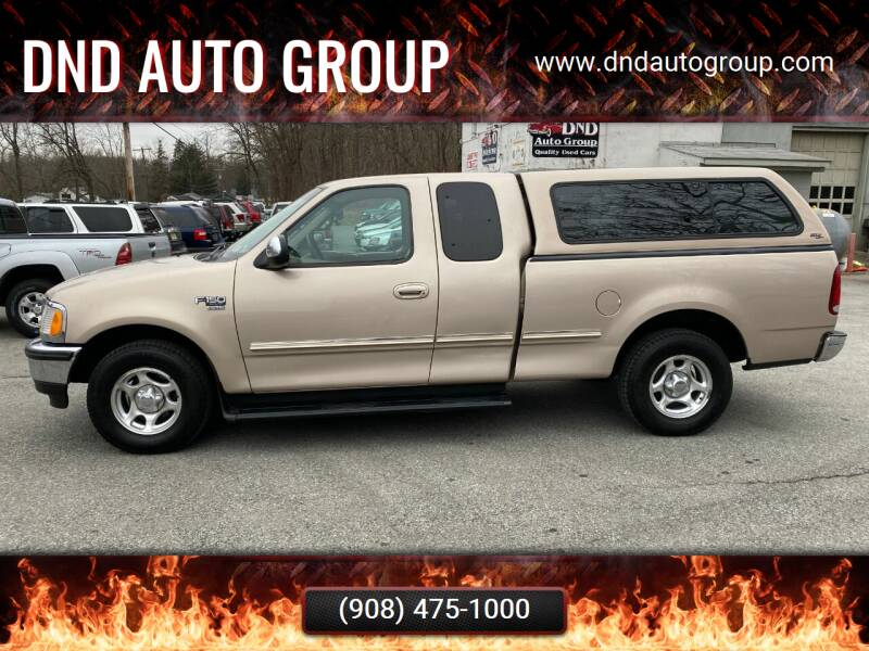 1998 Ford F-150 for sale at DND AUTO GROUP in Belvidere NJ