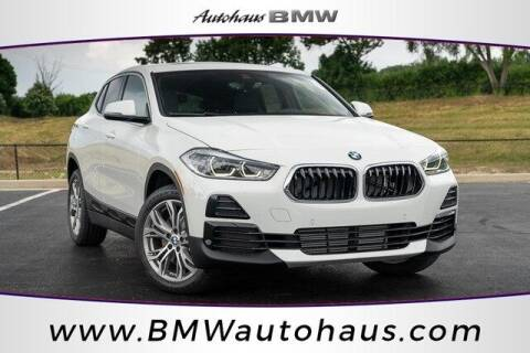 2022 BMW X2 for sale at Autohaus Group of St. Louis MO - 3015 South Hanley Road Lot in Saint Louis MO