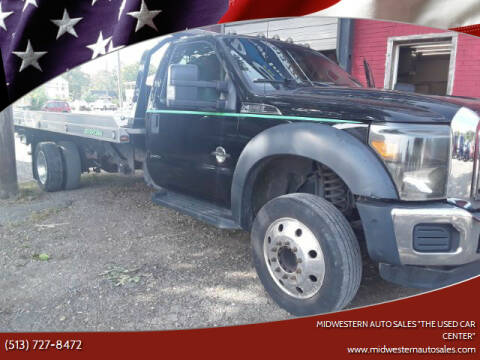 """2016 Ford F-550 Super Duty for sale at MIDWESTERN AUTO SALES        """"The Used Car Center"""" in Middletown OH"""