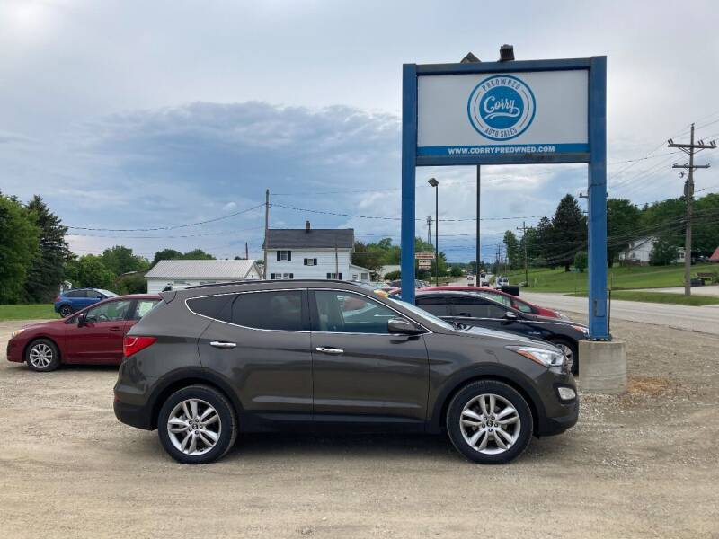 2014 Hyundai Santa Fe Sport for sale at Corry Pre Owned Auto Sales in Corry PA